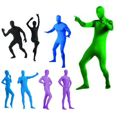 Full Body Adult Men Women Zentai Spandex Party Costume Suit Invisible Morph suit