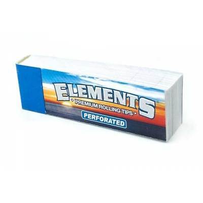 50 Tips Leaves Elements Perforated Unrefined Filter Smoke Natural Hemp