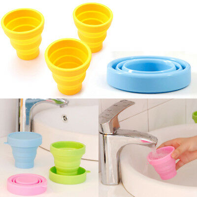 Silicone Drinking 200ml Delicate  Travel Fashion Collapsible Camping
