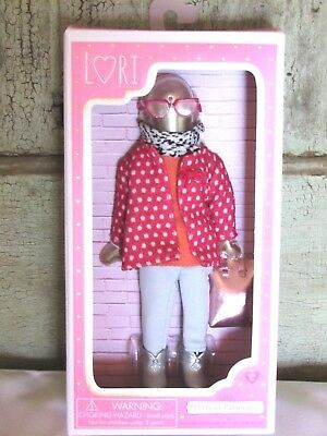 "6"" Lori Doll Pretty in Patterns Nice Clothes w purse Clothing Outfit Set NEW"