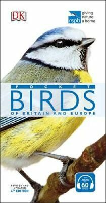 RSPB Pocket Birds of Britain and Europe by DK 9780241257227 (Paperback, 2017)