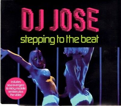 DJ JOSE Stepping to the beat   7 TRACK CD  NEW - NOT SEALED