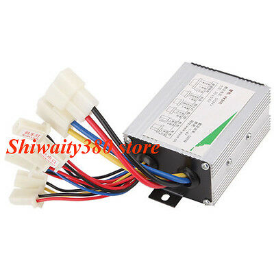 DC 24V 500W Electric Bicycle E-bike Scooter Brush Motor Speed Control Governor