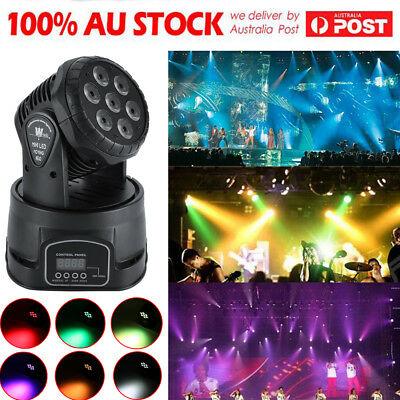 100W RGBW LED Laser Beam Moving Head Light DMX Stage Xmas Party DJ Lighting 14CH