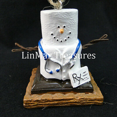 S'mores Medical Pharmacist Doctor Ornament Midwest CBK