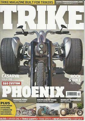 TRIKE MAGAZINE No.44 / Winter 2017 (NEW)*Post included to UK/Europe/USA/Canada
