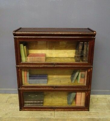 Globe Wernicke Stacking Bookcase, Antique