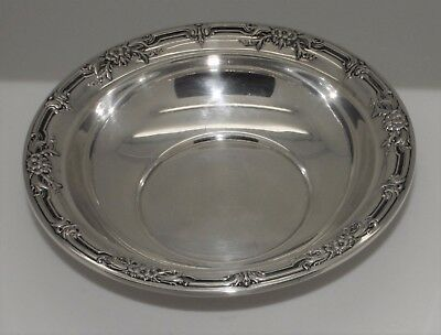 Beautiful International Silver Sterling Silver B196 Wild Rose Candy Dish 3.3 oz.