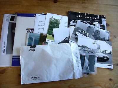 Fiat Tipo large job lot of press releases & photos, 1990-94, excellent