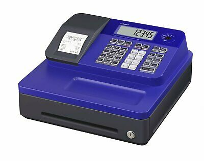 Casio Electronic Thermal Print Blue Cash Register SE-G1SC-BU
