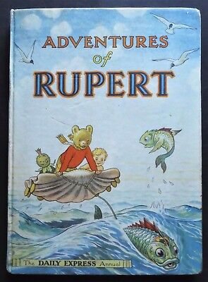 Rupert Annual 1950..original...not Inscribed Or Clipped....a Greycaine's Edition