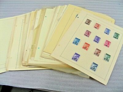 ITALIAN AREA, San Marino, Vatican City, Old time Stamp Collection hinged on remi
