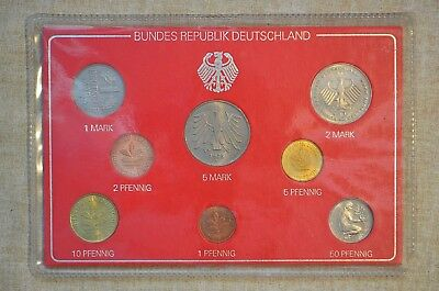 Federal Republic Of Germany Coin Set