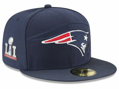 9f0c158a569 New England Patriots New Era 59Fifty Hat - Super Bowl LI Side Patch  Sideline Hat
