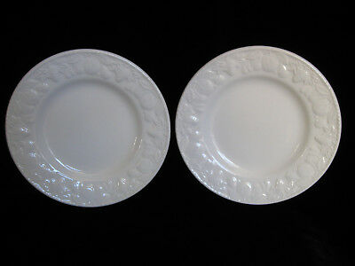 PAIR of BHS LINCOLN Side Plates - cream fruits british home stores