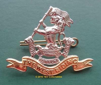 The Duke Of Wellington's Regiment (West Riding) Snr's Cap Badge