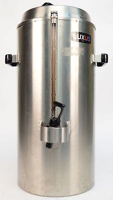 Fetco Luxus TPD-30 3 Gallon Hot/Cold Beverage Dispenser Stainless Steel