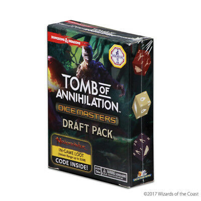 Dungeons&Dragons D&D Dice Masters - Tomb of Annihilation Draft Pack