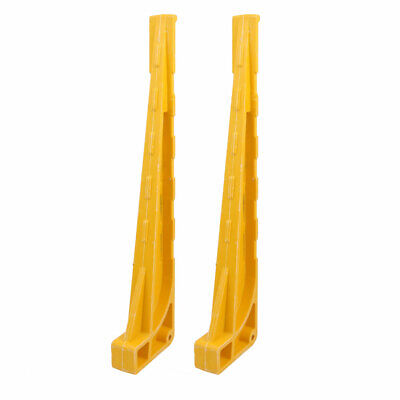 2 Pcs High Strength FRP Cable Bracket 500mm Length Combined Type Yellow