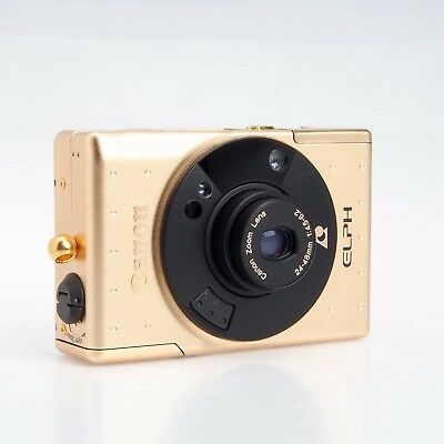 Canon Elph Limited Edition Gold APS Film Camera Collectible