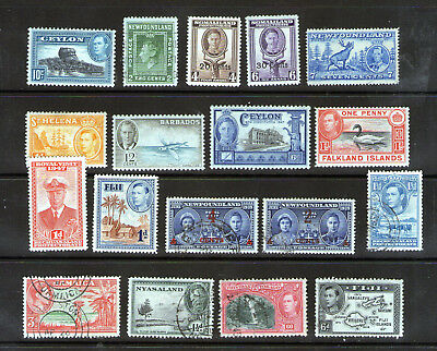 "Christmas ""Cracker""   Lot 12.  George VI stamps.    30p starting price."