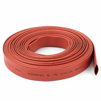 Red 10mm Dia Polyolefin 2:1 Heat Shrink Tubing Wire Wrap Cable Sleeve 10M 33Ft