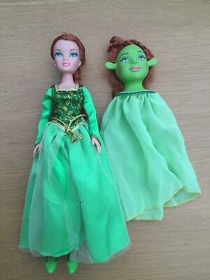 Princess Fiona Shrek Barbie doll RARE
