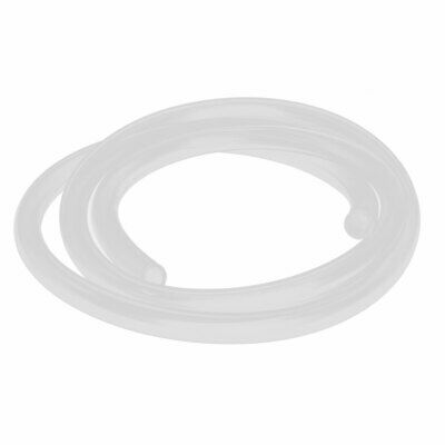 7mm x 10mm Silicone Translucent Tube Beer Water Air Hose Pipe 1 Meter