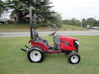 VERY  NICE   2014 MAHINDRA eMax 22   4 X 4   TRACTOR  ONLY 15  HOURS
