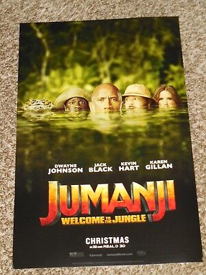 "Jumanji Welcome to the Jungle ""B"" 11x17 Promo Movie POSTER"
