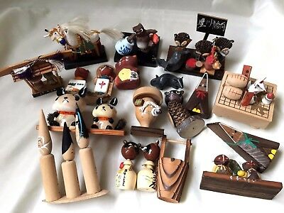 *Junk drawer, RARE! A lot of Japanese vintage goods, Small dolls K101503