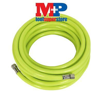 "Sealey AHFC10 Air Hose High Visibility 10mtr x �8mm with 1/4""BSP Unions"