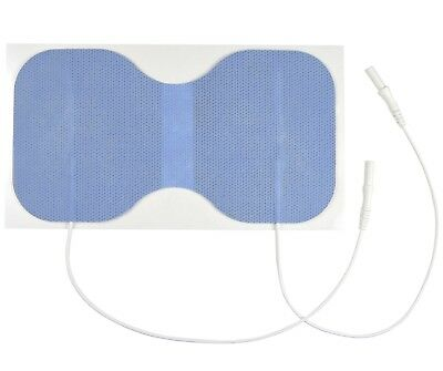 TENS Pads - Large Blue Butterfly Electrode for use with TENS Machines