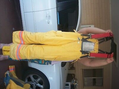 Pair of Firefighting Turnouts Bunker Gear Jacket and Pants FREE shipping