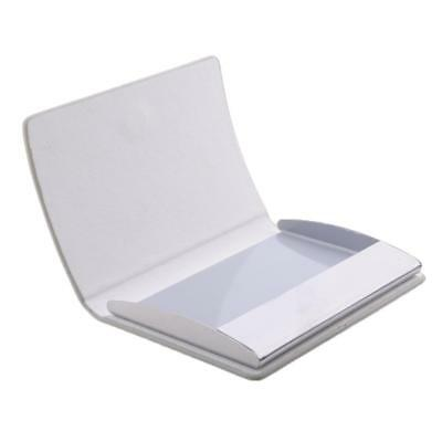 Men And Women Card Holder Pocket For Business Card Id Credit Card Grey