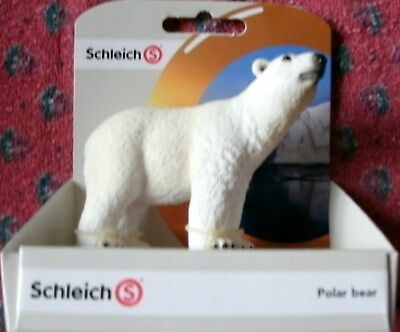 Schleich Polar Bear Toy Figurine NEW