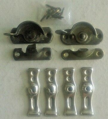 Vintage Window Sash Locks for Double Hung Windows, Restoration Turn Latches