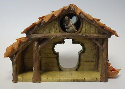 Charming Tails CHRISTMAS NATIVITY Manger Creche Stage Figurine SILVESTRI