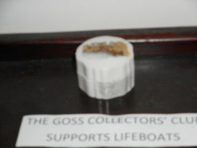 Arcadian Crested China Box and Lid - CT - The Ducking Stool, Leominster