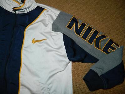 Vintage 1990s NIKE SPELLOUT TRACK TOP spell out nineties trackie L.Boys UK8-10