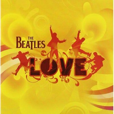 Love ***Yellow Barcode*** The Beatles Audio CD