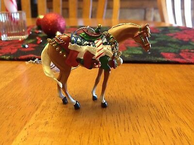 2005 #12327 Trail of Painted Ponies Christmas Ornament Happy Holidays Retired