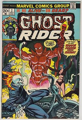 Ghost Rider #2, Marvel Comics, Vf Condition, 1St Son Of Satan