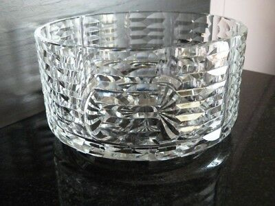 Waterford Crystal Cut Glass Bowl,Excellent Condition.