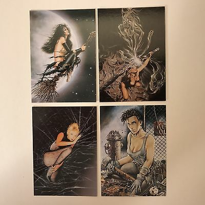 HEAVY METAL: THE ART OF HEAVY METAL Complete BLACK MAGIC 3-CARD SUBSET w/ PROMO