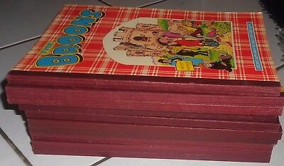 10  The Broons  Annuals 1981 To  2001, Vg Condition .