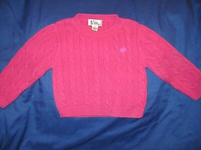 Lilly Pulitzer Pink 100% Cotton Sweater Toddler/baby Size 2T Lqqk