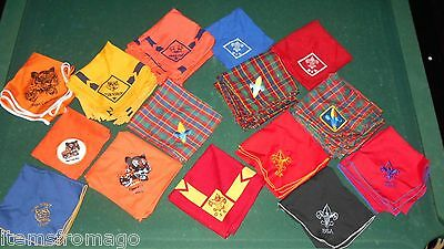 BOY SCOUT NECKERCHIEF - Your Choice - Different ones to choose from