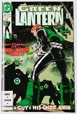 Green Lantern #11 (Apr 1991, DC) VF/NM