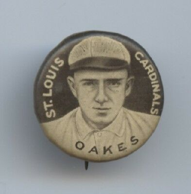 Rebel Oakes 1910-12 Sweet Caporal Pins P2 - Small Letters - VGEX